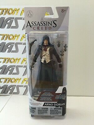 Assassins Creed Hooded Arno Dorian McFarlane Action Figure Unlock Costume