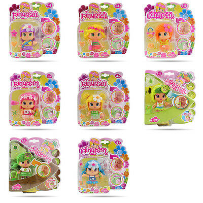 Lovely Floral Fruit Style Famosa Perfumed Pinypon 3Inch Reversible Doll Figures