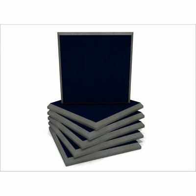EQ Acoustics Colour Panel 60cm Fabric Faced Tile (ink blue, pack of 6)