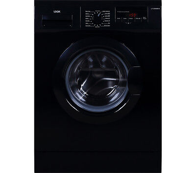 LOGIK L712WMB16 7kg Front Loading Freestanding Washing Machine Black
