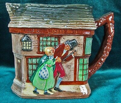 Royal Doulton Dickens Series G Jug Old Curiosity Shop D5584 Relief Molded