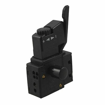 FA2-6/1BEK SPST Lock on Power Tool Trigger Button Switch Black AD