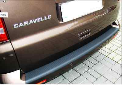 Vw T5 Rear Bumper Protector Black Transporter Caravelle Volkswagen Strip Guard