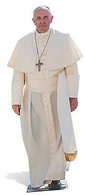 Pope Francis Lifesize Cardboard Cutout / Stand Up  / Standee Catholic Church