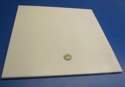 "Teflon PTFE Virgin Sheet, 1/4"" - .250"" x 12"" x 12"" White"