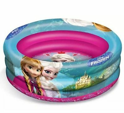 Disney Frozen Inflatable 3 Rings 100cm Paddling / Swimming Pool - ANNA & ELSA