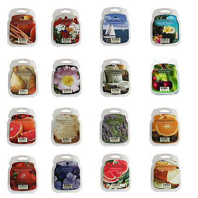 Village Candle Premium Scented Wax Melts Tart Melt Up to 20 Hours Burn Time