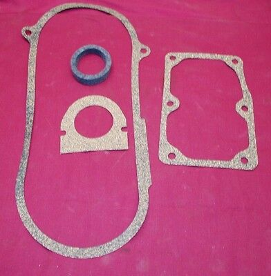 4 Pc John Deere 3 HP type E Magneto gasket set Hit miss gas engine fits waterloo