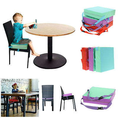 Kids Baby Increased Soft Chair Seat Highchair Mat Dining Booster Cushion Pad Hot