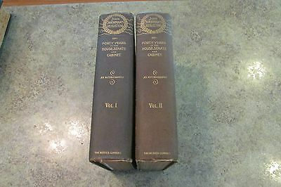 2 Vol 1895 Hard Back Book Set JOHN SHERMAN'S RECOLLECTIONS Autobiography Werner
