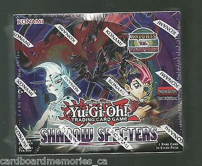 Yu-gi-oh! Yugioh Shadow Specters Factory Sealed 1st Edition Booster Box