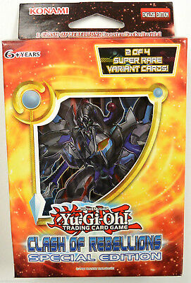 Yu-gi-oh! Yugioh Clash of Rebellions Special Edition (English) - New in box