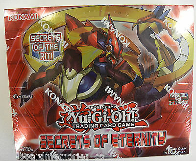 Yu-gi-oh! Yugioh Secrets of Eternity Factory Sealed 1st Edition Booster Box