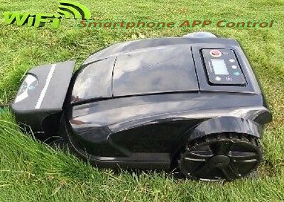 New Wifi Apple Android lithium RC Robot Lawn Mower, Auto Recharge Remote Control