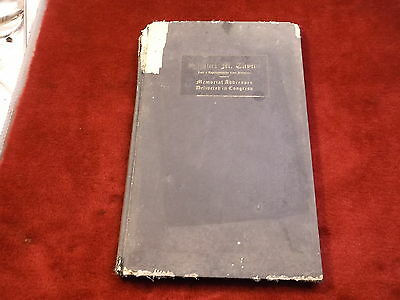 "Rare Antique 1924 Book ""Samuel M. Taylor, Memorial Addresses..."" Arkansas Rep"