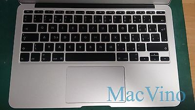 "Apple Top Chassis A1465 Macbook Air 11"" With Slovak Keyboard Touchpad Speakers"