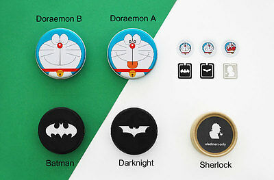 Aladin Sherlock Batman Darknight Doraemon Characters Bookmark Clips Set