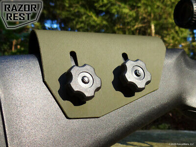 OD Green Cheek Rest - Razor Rest .093 Adjustable Rifle Stock Cheek Riser Kydex !