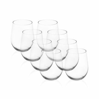 NEW Riedel 'O' Series Viognier-Chardonnay Wine Glass  Pay 6 Get 8