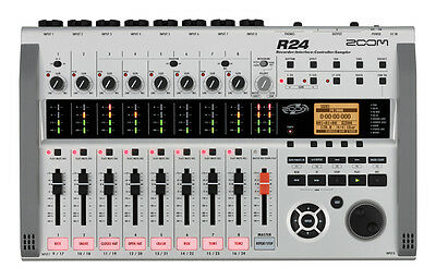 Zoom R24 24-track digital portable Multitrack Recorder w/ Cubase LE