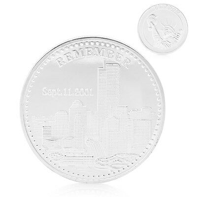 Remember 09.11.2001 World Trade Center Freedom Commemorative Coin Collection