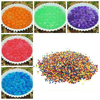 1000pcs Water Balls Crystal Pearls Jelly Gel Bead for Orbeez Toy Refill Decor BG