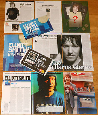 ELLIOTT SMITH clippings photos magazine articles promo ads rare pictures