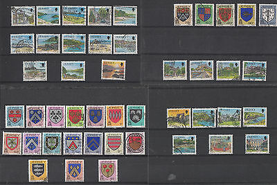 Jersey Definitive used Stamps multi listing