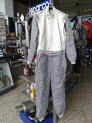 SPARCO RACE RALLY SUIT OVERALL FIA TOP SIZE Größe 58  FAST DELIVERY