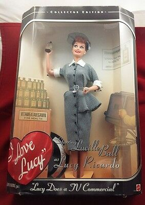 Barbie I Love Lucy Episode 30 Lucy Does a TV Commercial Vita Meata Vegamin 17645