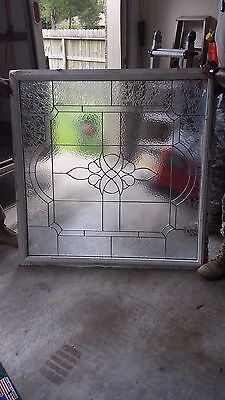 Decorative Framed Glass Window