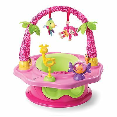Summer Infant 3-Stage SuperSeat Deluxe Giggles Island Positioner, Booster and