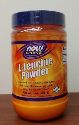 NOW Sports - L-Glutamine Powder - 1 lb Best Muscle Recovery 05/2018