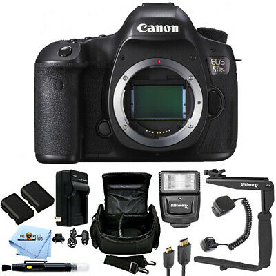 Canon EOS 5DS Digital SLR (Body Only) ESSENTIAL BUNDLE!! Brand New!