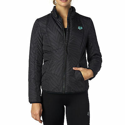 Fox Racing Womens Black Sonar Jacket 2016 Casuals