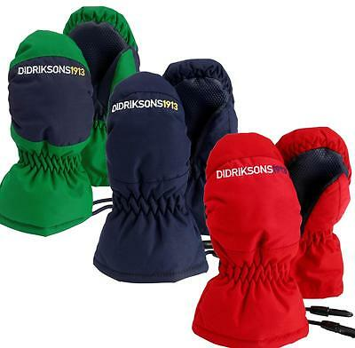 Didriksons Onida Kids Mittens Windproof Insulated  0 - 10 years Water Resistant