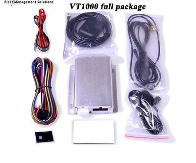 GPS Tracker with Live Video Camera, Temperature & Fuel Monitoring, Door Sensor