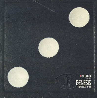 GENESIS 1986-87 Invisible Tour Program Tourbook Programme