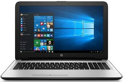 "HP Pavilion Laptop 15.6"" LED QuadCore 4GB 500GB DVD+RW WebCam WiFi WIN10 - White"
