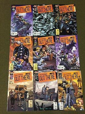 California OUT THERE #1-18 Complete Run ~ CLIFFHANGER Comics ~ Nice Series ~
