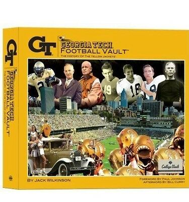 Georgia Tech Football Vault The History of the Yellow Jackets Hardcover w/Poster