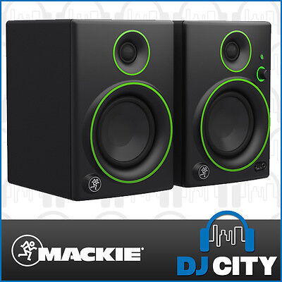 "Mackie CR4BT 4"" Compact Studio Multimedia Monitors 4-inch Pair w/ Bluetooth CR-4"