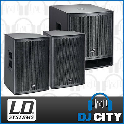 """LD Systems PK-LDGT12SUB 12"""" Powered PA Package"""