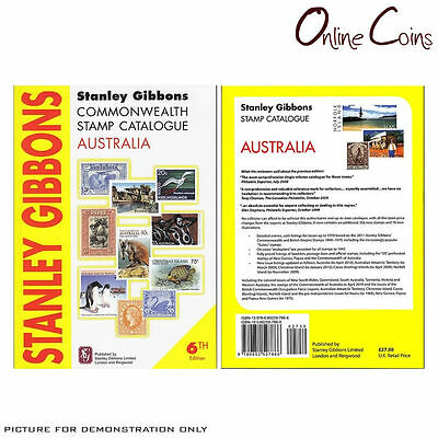 Stanley Gibbons - Commonwealth Stamp Catalogue Australia 6th Edition SC Book