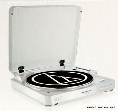 Audio Technica AT LP60WH BT Automatic Wireless Belt-Drive Stereo Turntable White