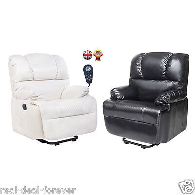 Btm Electric Synthetic Leather Automatic Massage Chair Recliner Armchair Sofa
