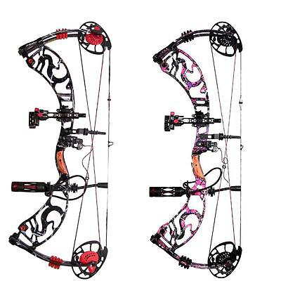 Pro Compound Bow & Rest Sight Stabiliser RH Archery Hunting Adjustable 40-60Lbs