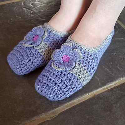 Handmade Crocheted Slippers