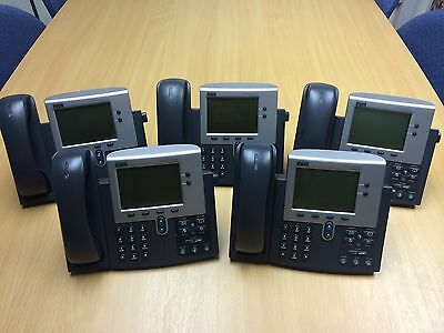 CISCO CP-7940G GRADE B PHONE BUNDLE / job lot 30 DAY WARRANTY 7940g