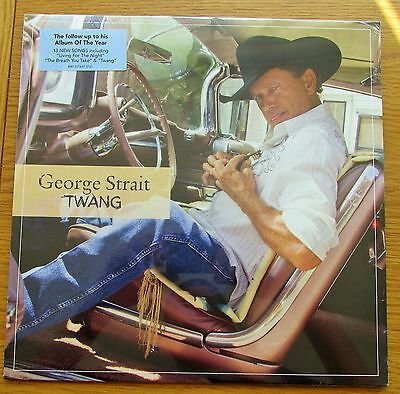 GEORGE STRAIT Twang 2009 USA PRESSING VINYL LP NEW SEALED COUNTRY